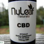 NuLeaf Naturals review CBD Oil Front