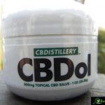 CBDistillery review mg topical CBD salve