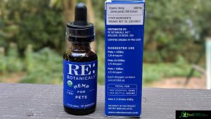RE Botanicals review Tincture